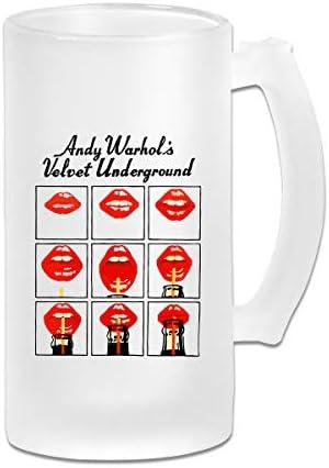 ジョッキ ビールグラス ホッピージョッキ アンディ ウォーホル ビアグラス ガラスジョッキ マグカップ コーヒーカップ 片手コップ オフィス タンブラー プレゼント 飲み物 CUP 贈り物 シンプル おしゃれ 500ML 飲み会