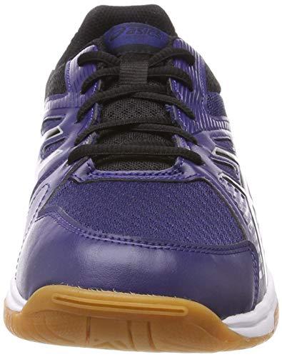 Uomo indigo Asics Da Squash 402 Blue black Upcourt Scarpe Blu 3 AqqwC0nX