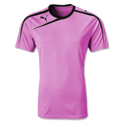 Puma Mens Spirit Shirt Flou Pink/Black/Bright Pink