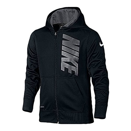 Nike Boys 7-18 KO Full Zip Fleece Hoodie Athletic Hoody S...