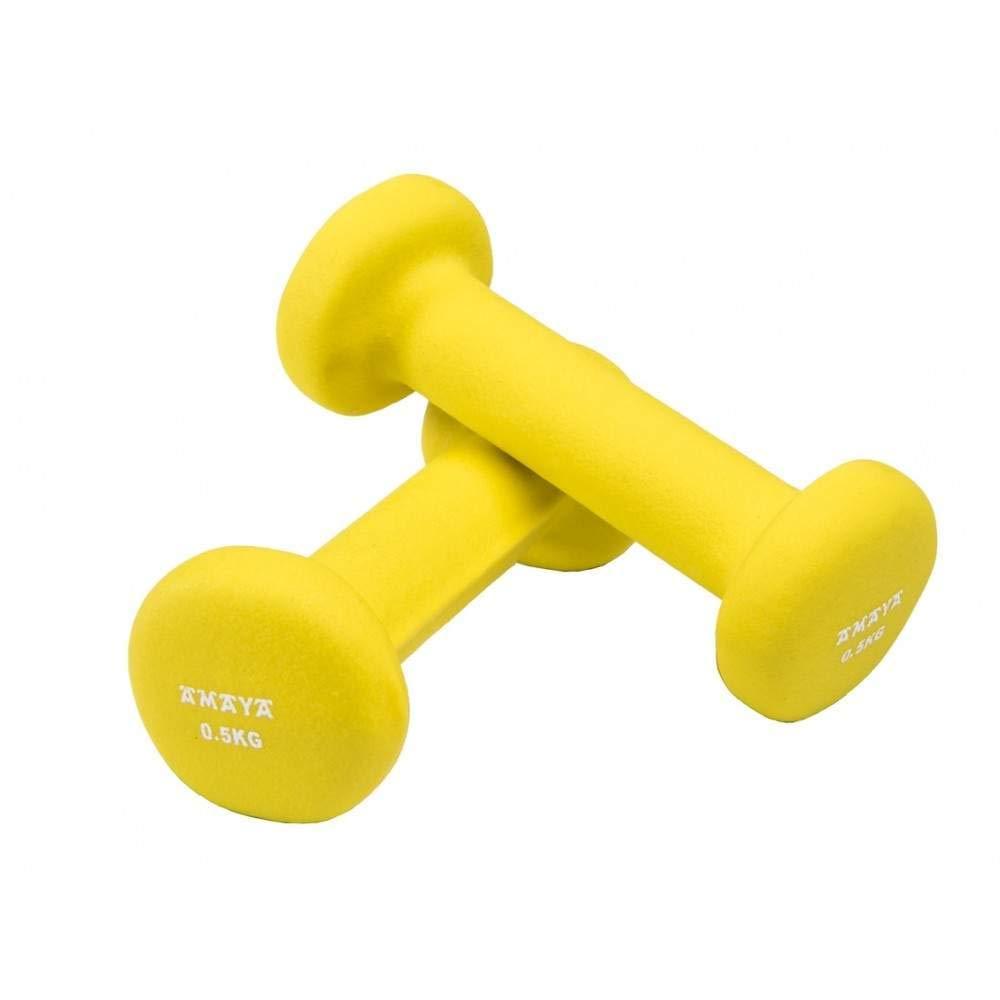Amaya Sports - Mancuernas de neopreno 05 kg par: Amazon.es ...