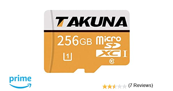 TAKUNA - Tarjeta de memoria Micro SD SDXC (128 GB, adaptador ...