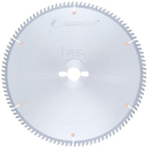 Amana Melamine Blade (Amana Tool MB14108-30 Carbide Tipped Double-Face Melamine 14 Inch D x 108T H-ATB, -6 Deg, 30MM Bore, Circular Saw Blade)