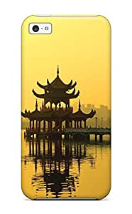 Michael paytosh Dawson's Shop Hot Durable Protector Case Cover With Japanese Architecture Hot Design For Iphone 5c