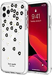 kate spade new york Scattered Flowers Case for iPhone 11 Pro Max - Defensive Hardshell with White Bumper