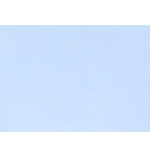A7 Flat Card (5 1/8 x 7) - Baby Blue (1000 Qty.) by Envelopes Store
