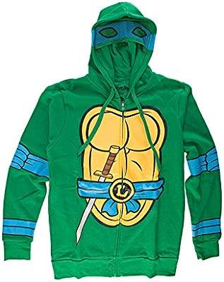 Teenage Mutant Ninja Turtles I Am Leonardo Zip Up Hoodie ...