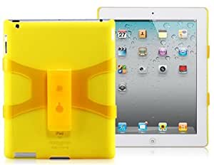 IYON Adjustable Stand Protective Case for iPad 2/3/4 (Yellow)
