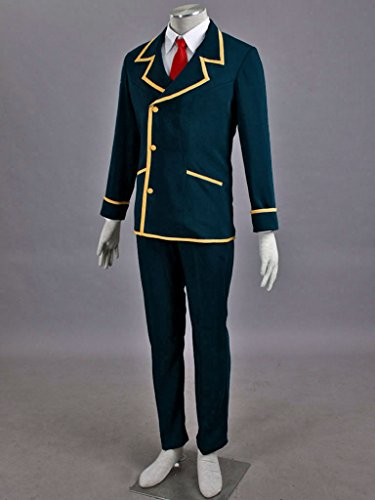 Mtxc Men's Love, Elections & Chocolate Cosplay Costume Ohjima Yuuki School Uniform Size XXX-Large Blue by Mtxc (Image #3)