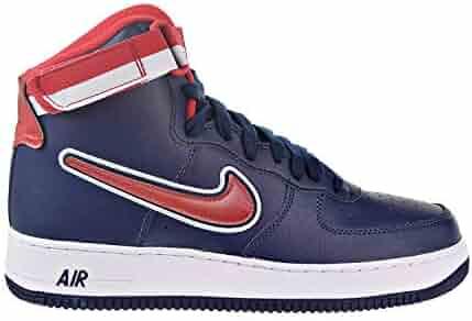 best wholesaler 6ca5c dd5e0 Nike Air Force 1 High  07 LV8 Sport Men s Shoes Midnight Navy White