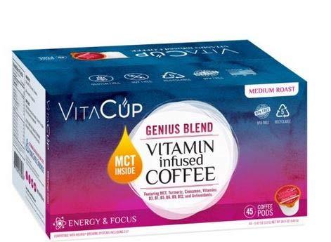 VitaCup Genius Blend Coffee Pods (45 ct.) ES