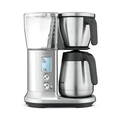 Breville BDC450 Precision Brewer Coffee Maker with Thermal - Coffee Brushed Chrome Maker
