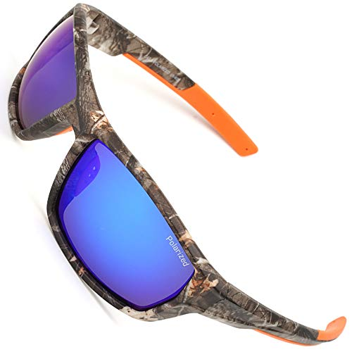 MOTELAN Polarized Casual Sports Sunglasses for Driving Fishing Hunting Golf Unbreakable Frame ()