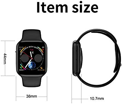 W34 Smart Watch Iwo 8 Plus ECG/PPG Smartwatch Heart Rate Monitor ...