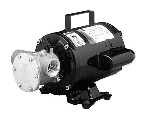 Jabsco 6050-0003 Marine Series Utility General Purpose Pump (110-Volt, Nitrile Impeller, Open Drip Proof Moto Non-CE, 1