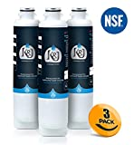 Samsung Compatible Refrigerator Water Filters for DA2900020B, RF263BEAESR, and RF28HMEDBSR - Samsung HAF-CIN/EXP and 46-9101 Compatible Refrigerator Water Filters, NSF 42 Certified (3 Pack)