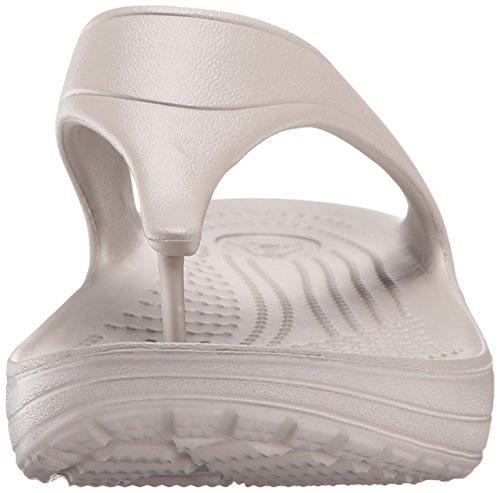 Platform Flip con Sloane Gris a Crocs Platinum Sandalias para Cu Mujer pZq7x6