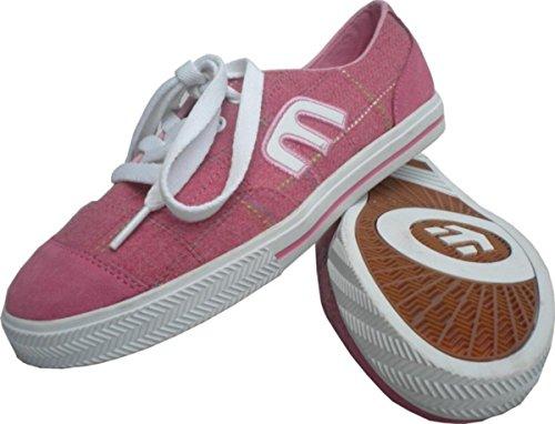 Etnies Skateboard Schuhe Plimsy Pink/White