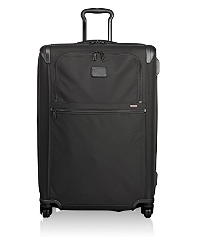 Tumi Alpha 2 Medium Trip Expandable 4 Wheeled Packing Case Suitcase-Rolling Luggage for Men and Women, Black