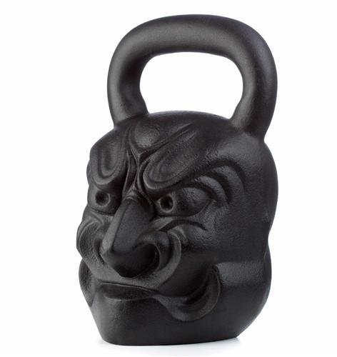 72 lbs Big Boi Exercise kettlebell - Crossfit, HIIT kettlebell for Strength Training | Forearm & Fitness kettle Weights by Gorilla Fitness