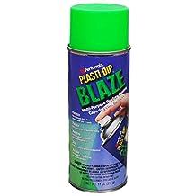 4 PACK PLASTI DIP Mulit-Purpose Rubber Coating Spray BLAZE GREEN 11oz Aerosol