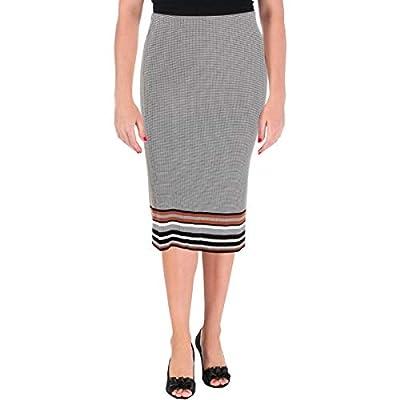 Scotch & Soda Womens Knit Ribbed Midi Skirt