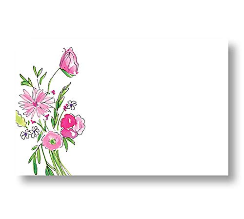 Classy Forever Spring Floral Enclosure Cards, Pack of 50 ()