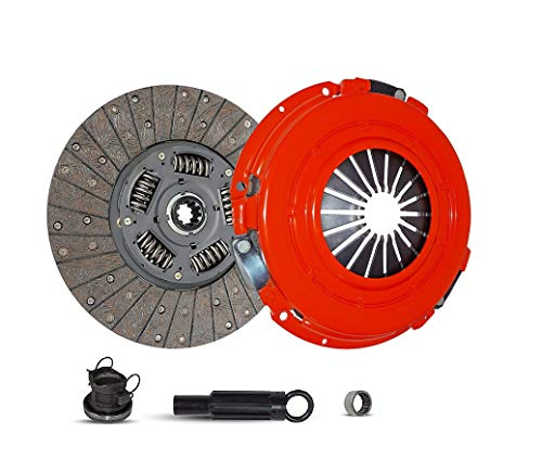 Clutch Kit works with Dodge Ram 1500-3500 B150 B1500-B3500 Laramie Sport St Base Standard Extended Cab Pickup 1994-2002 3.9L V6 5.2L V8 5.9L V8 GAS OHV Naturally Aspirated (Stage 1) (1997 Dodge Ram Pickup 3500 Extended Cab)