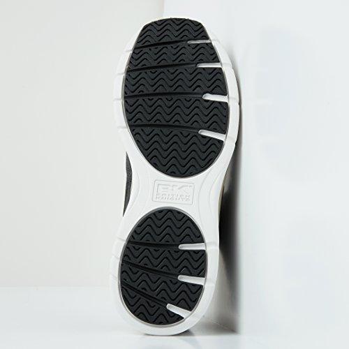 Knights Mid Schuh Top Schwarz Steel Beige High Sneaker British Herren SqwZdqF