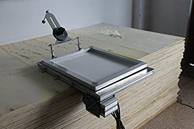 Simple Screen Printing Butterfly Frame Hinge Clamp Table Printing Press Tool