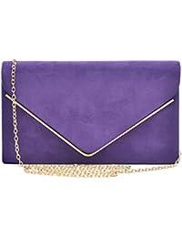 Amazon.com: Purples - Evening Bags / Clutches & Evening Bags ...