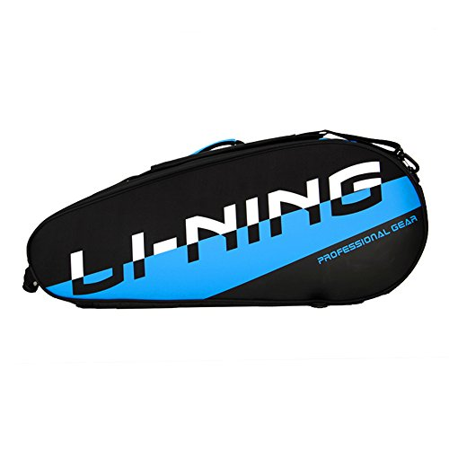 Li-Ning Professional Badminton Bag 6 Racquets Load Waterproof and Dustproof