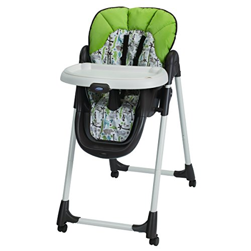 Amazon Lightning Deal 80% claimed: Graco Meal Time High Chair Zoofari Brown
