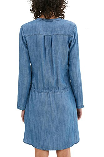 new product 58294 c15ec Esprit Azul Medium Para Mujer Vestido blue By Wash Edc f5qwvv