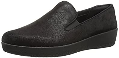 FITFLOP Womens Superskate Black Size: 6