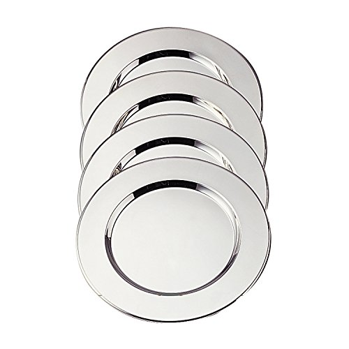 (Elegance Silver 8252/4 Silver Plated Charger Plate, 11-3/4