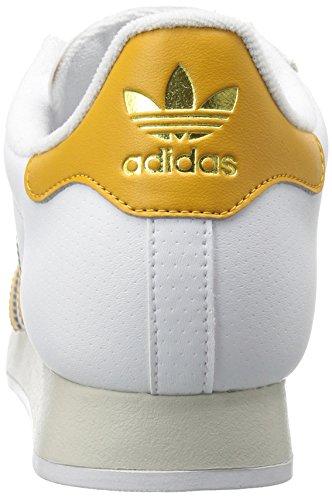 Adidas Originali Mens Samoa Bianco / Giallo Tattile / Talco
