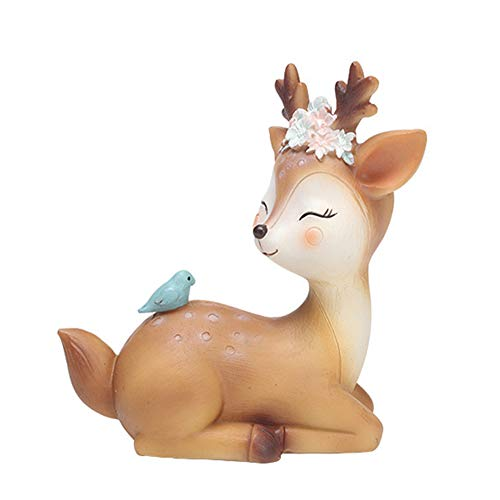 - L.DONG Deer Figurines Toys Decor 4.3