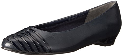 Rozenblaadjes Door Walking Cradles Dames Bev Navy Kid / Black Patent