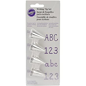 Wilton 418-4566 4-Piece Writing Tip Set