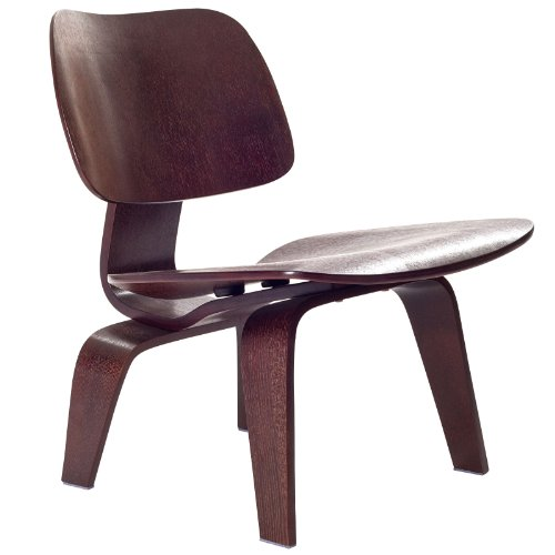 Modway EEI-510-WEN Fathom Mid-Century Modern Molded Plywood Lounge Accent Chair Wenge Review
