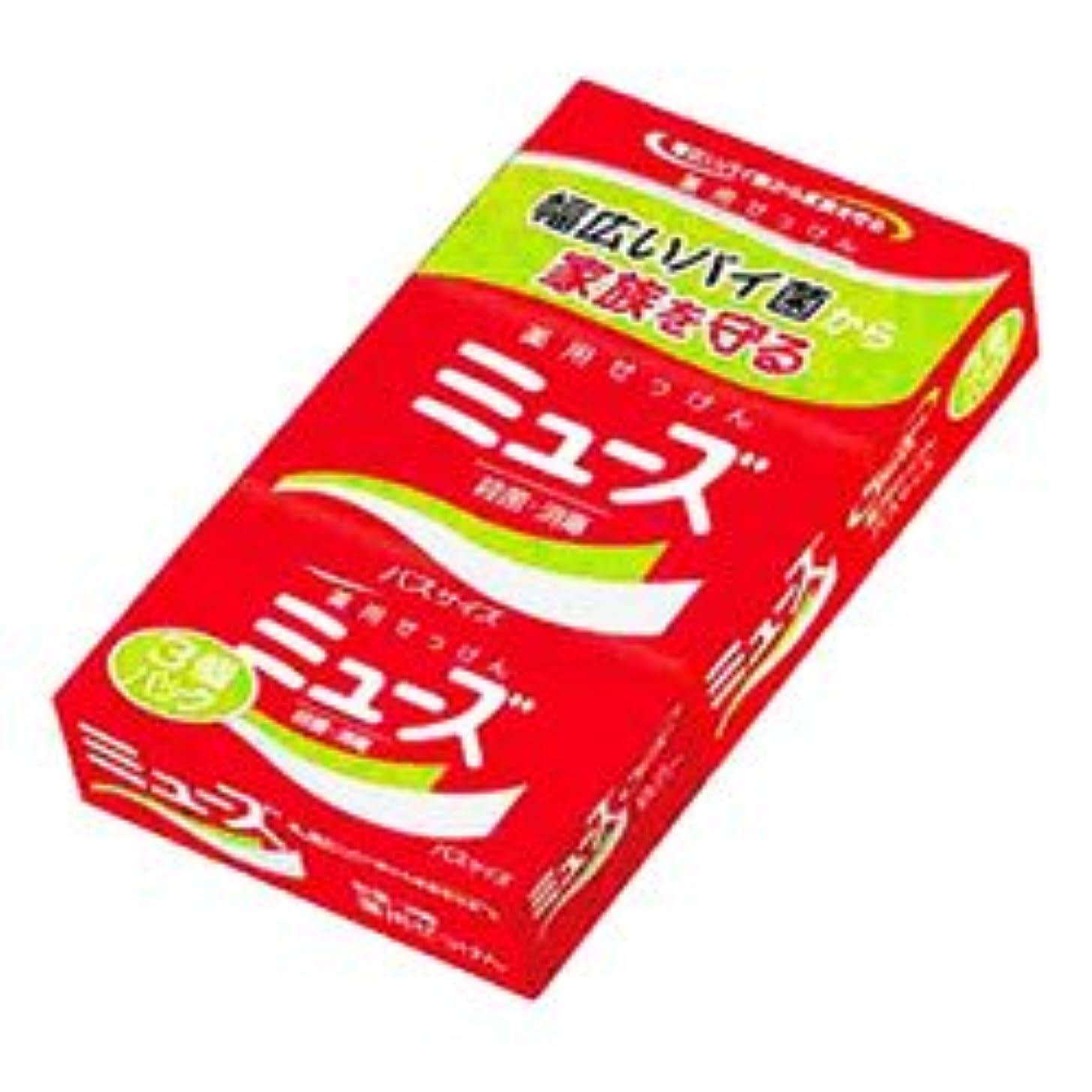 がっかりするアクセス資本【アース製薬】ミューズ石鹸 バスサイズ 135g*3 ×20個セット