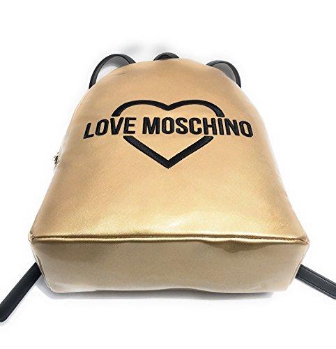 Borsa donna zainetto LOVE MOSCHINO articolo JC4306PP03KP BORSA PU 0901 Oro
