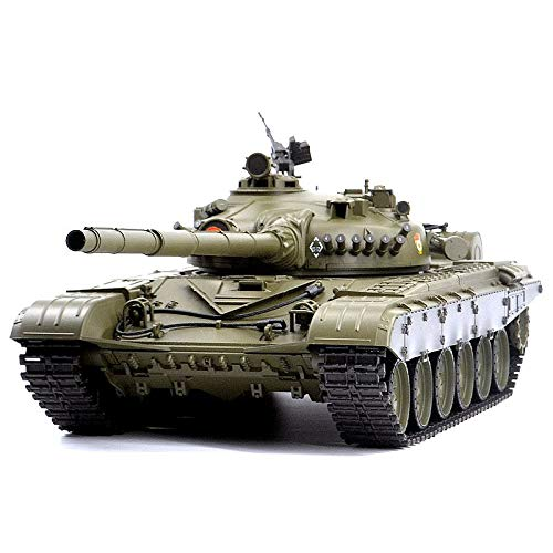 Cheap HengLong 2.4Ghz 1/16 Scale Radio Remote Control Russian T-72 Main Battle Tank RC Airsoft and IR RC Battle Tank Smoke  Sound rc tanks 1/16
