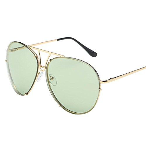 espejo Gafas tamaño sol grande unisex superior estilo de de verde de morado aviador y morado plana lentes grandes lujosas Turkey parte 66Fpw