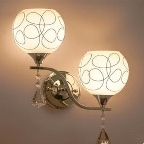 LightInTheBox Modern/Contemporary Mini Style, LED Wall Sconces Crystal Wall Lamp Chrome Finish E26/E27 White Color