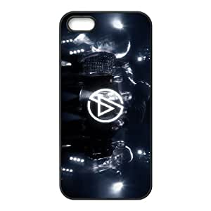 iPhone 5 5S case protective skin cover with rock band Linkin Park design ATR010985