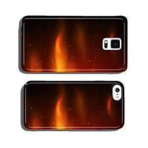 Burn flame fire vector background cell phone cover case iPhone5