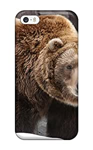 Jasenka Selimovich Scratch-free Phone Case For Iphone 5/5s- Retail Packaging - Grizzly Bears