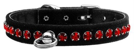 Mirage Pet Products Elite Dog Collar, 12-Inch, Ruby